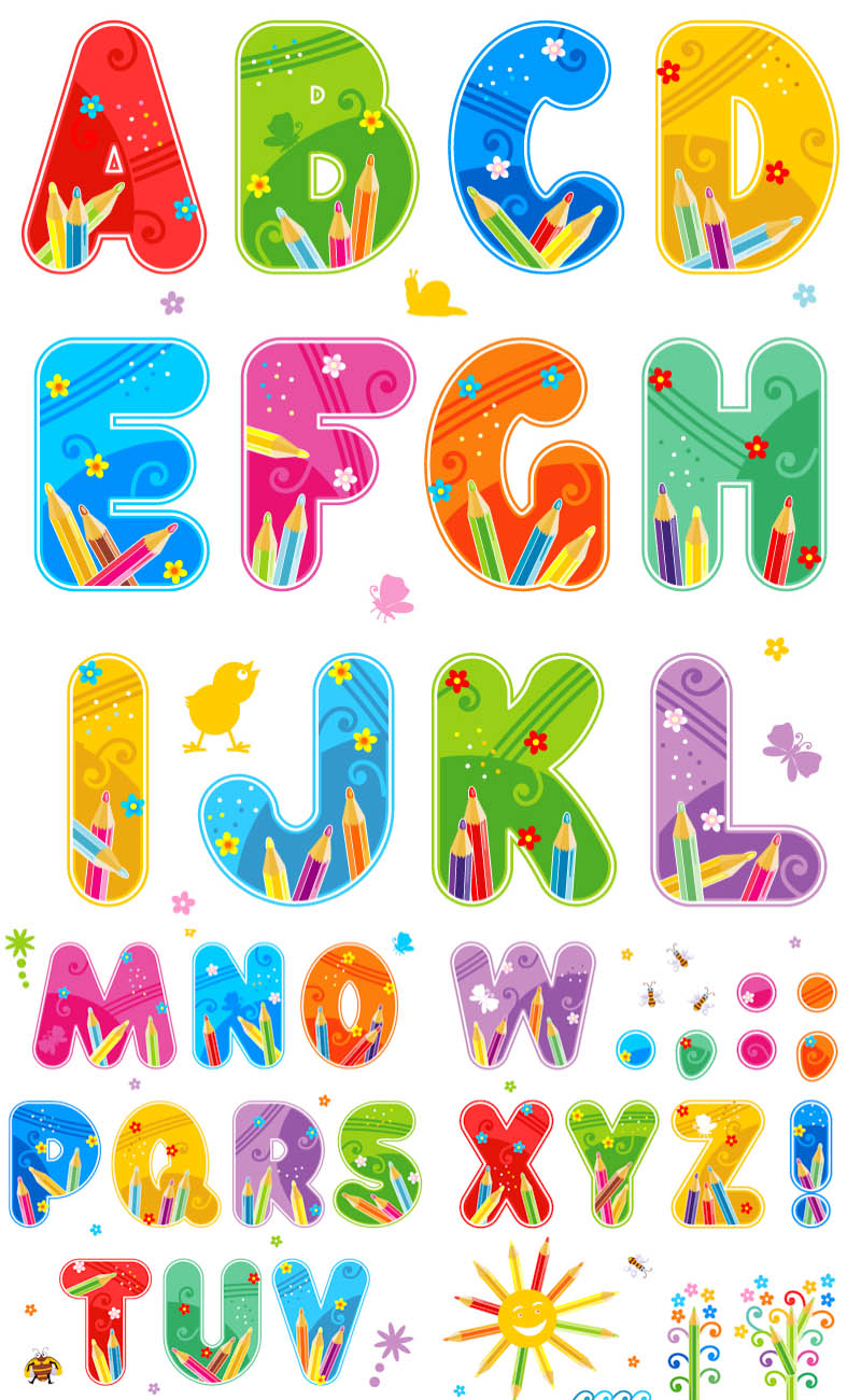 Alphabet clip art free png free stock For Teaching Alphabet Clipart - Clipart Kid png free stock