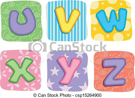 Clipart letters of the alphabet free - ClipartFest svg transparent library