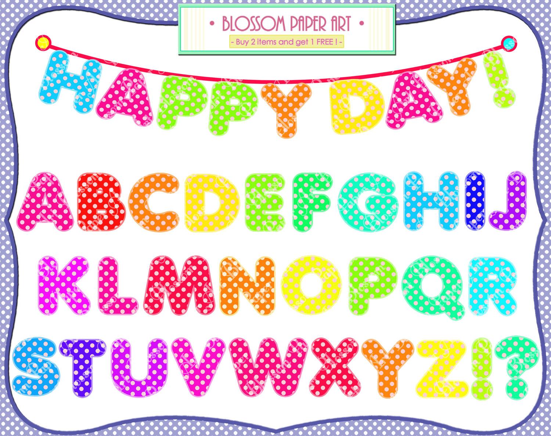 Alphabet clip art free clip free Individual Alphabet Letters Clipart - Clipart Kid clip free