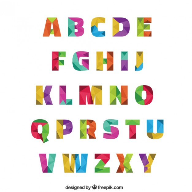 Vectors photos and psd. Alphabet clip art free download