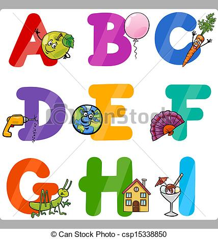 Alphabet clip art free letters clip transparent Cartoon alphabet letters clip art - ClipartFest clip transparent