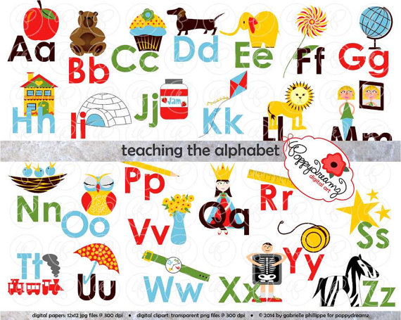 For teachers kid teaching. Alphabet clipart