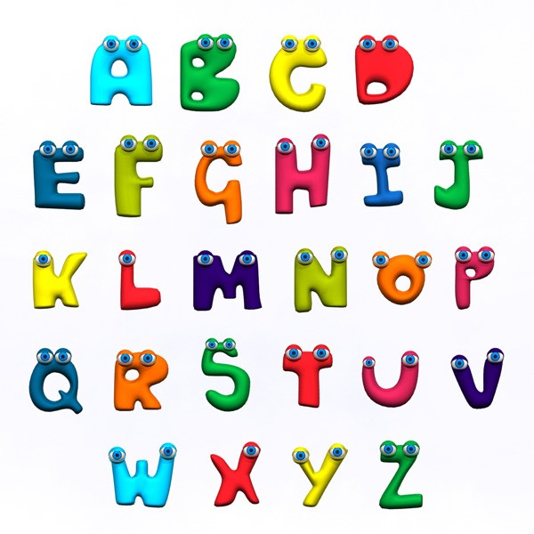 Alphabet clipart a z graphic freeuse library Animated Alphabets | Free Download Clip Art | Free Clip Art | on ... graphic freeuse library