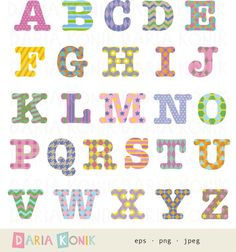 Alphabet clipart a z picture freeuse download Alphabet Clip Art Set-A-Z, uppercase letters, full stop ... picture freeuse download