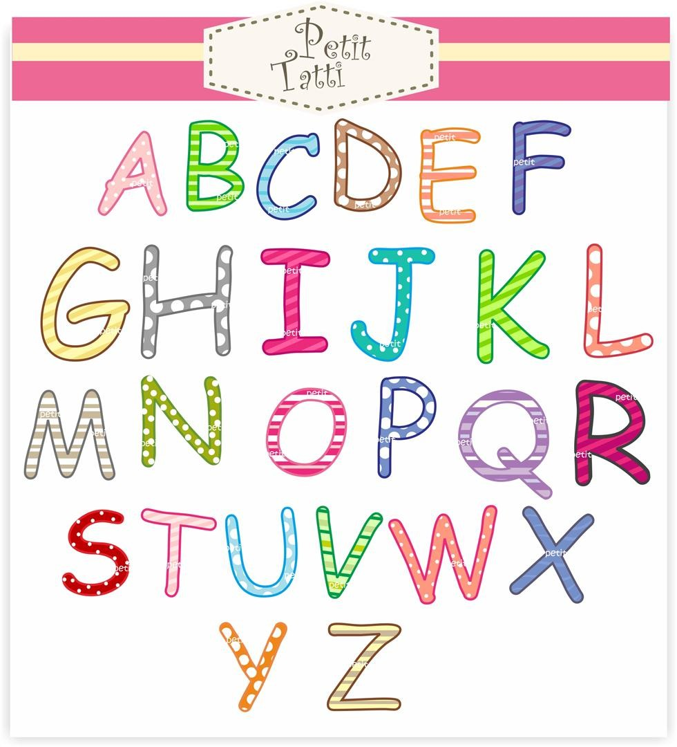 Alphabet clipart a z banner royalty free download Alphabet clipart a z - ClipartFest banner royalty free download