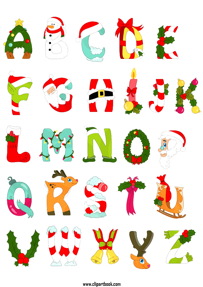 Alphabet clipart download png freeuse Free Christmas Alphabet Cliparts, Download Free Clip Art, Free Clip ... png freeuse
