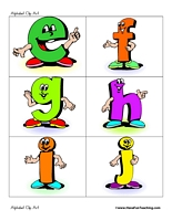 Alphabet Clipart For Kids | Clipart Panda - Free Clipart Images picture
