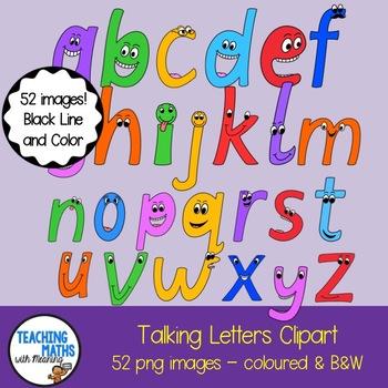 Alphabet clipart for teachers vector download Alphabet Clipart Set vector download