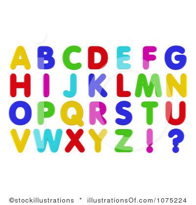 Clip art letters images. Alphabet clipart free