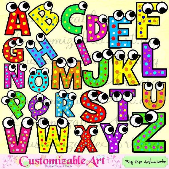Alphabet clipart graphics clip art royalty free stock Alphabet Clipart Digital Alphabet Clip Art Images Upper Case Letters ... clip art royalty free stock