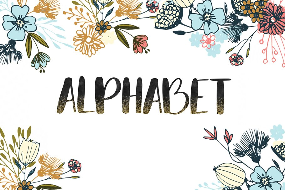 Alphabet clipart graphics svg stock Black watercolor alphabet clipart svg stock