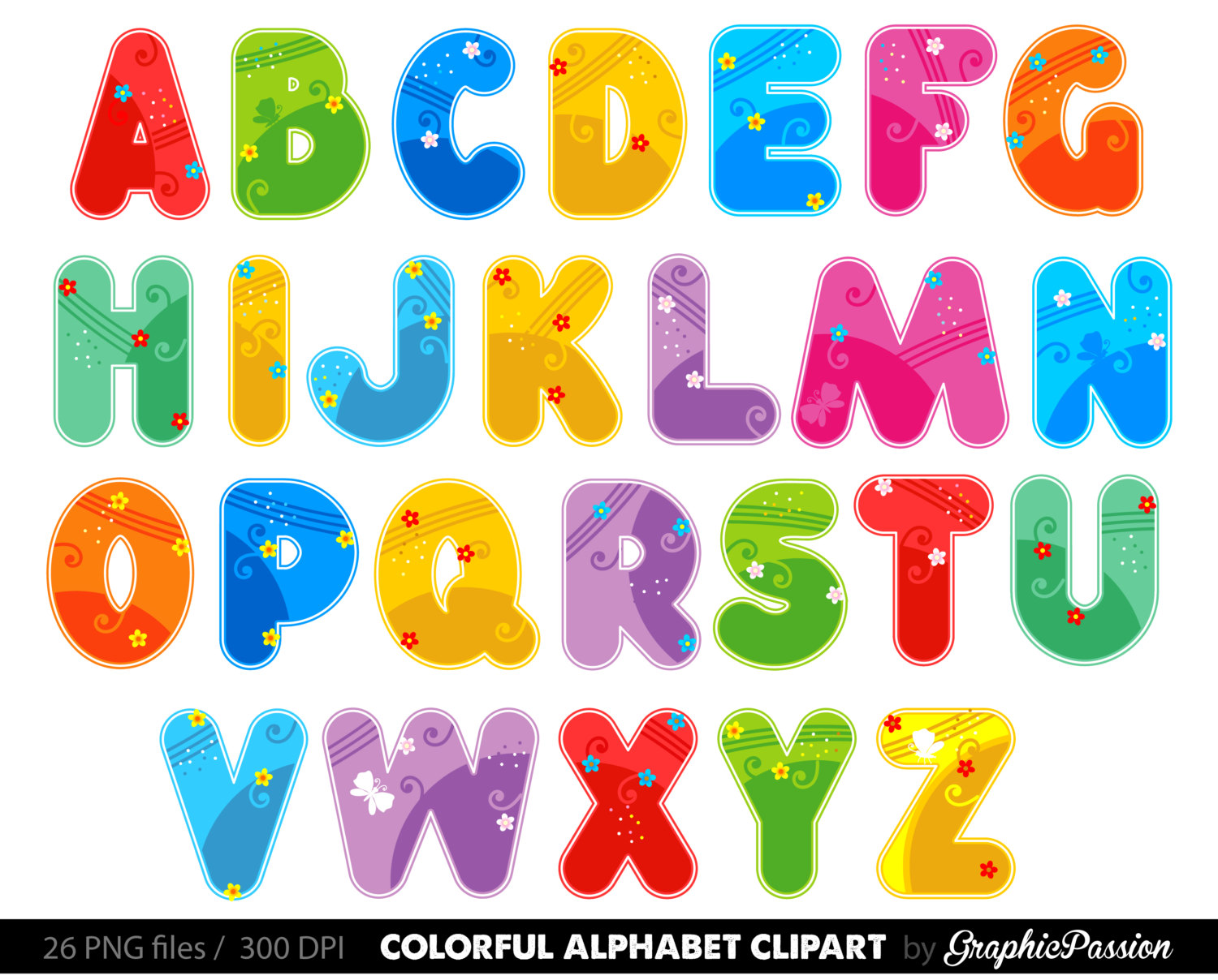 Alphabet clipart graphics jpg library library 53+ Alphabet Letters Clip Art   ClipartLook jpg library library