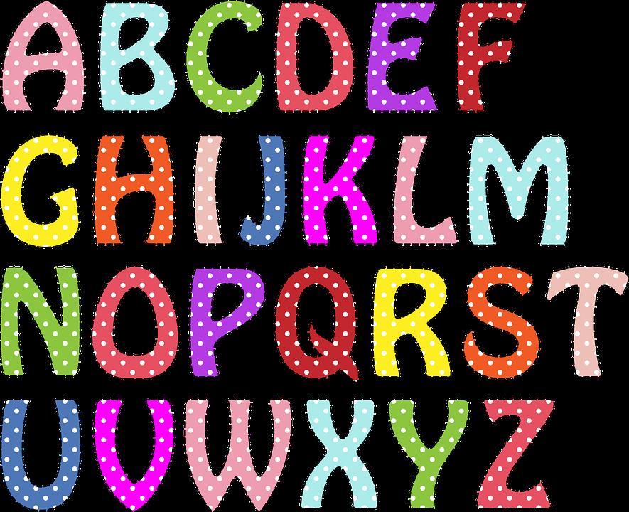 Alphabet clipart letters vector alphabet-letters-909040_960_720.png (885×720) | aakkoset | Pinterest ... vector