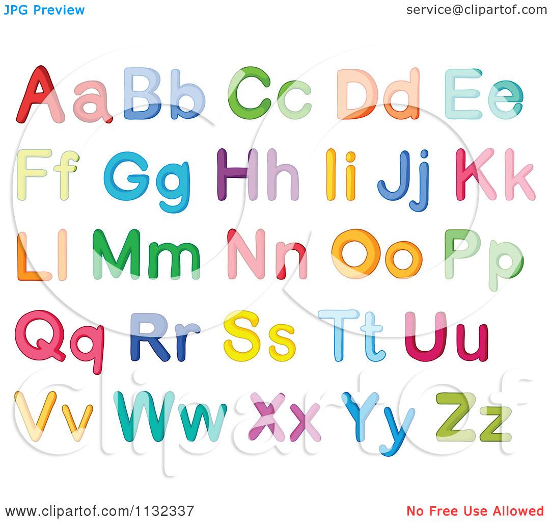 Alphabet clipart letters clipart library library Cartoon alphabet letters clip art - ClipartFest clipart library library