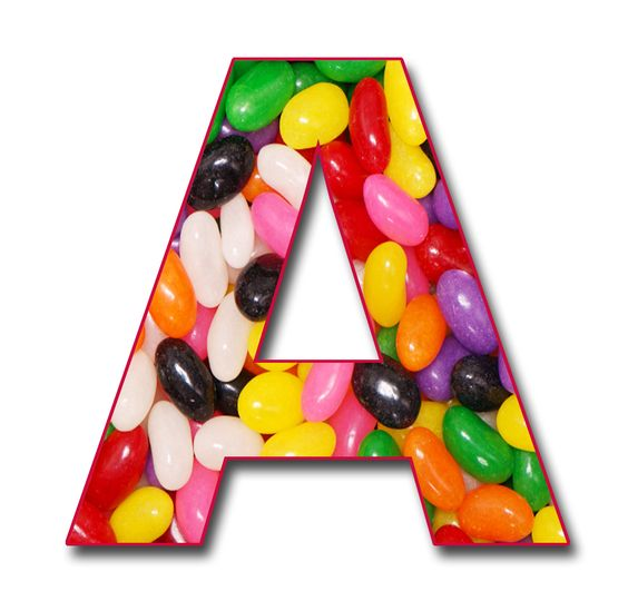 Alphabet clipart png. Scrapbook jelly beans free