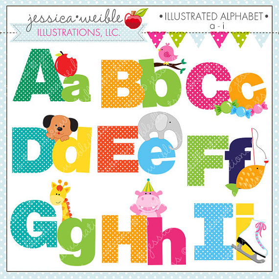 Alphabet cliparts banner freeuse library Cute alphabet clipart - ClipartFest banner freeuse library