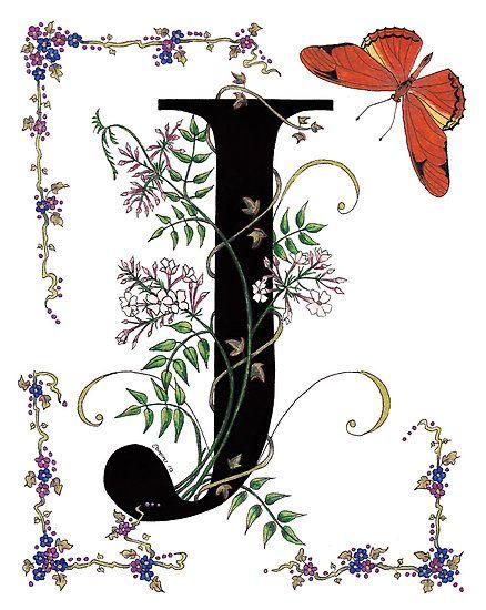 Alphabet flower clipart letter j - ClipartFest library