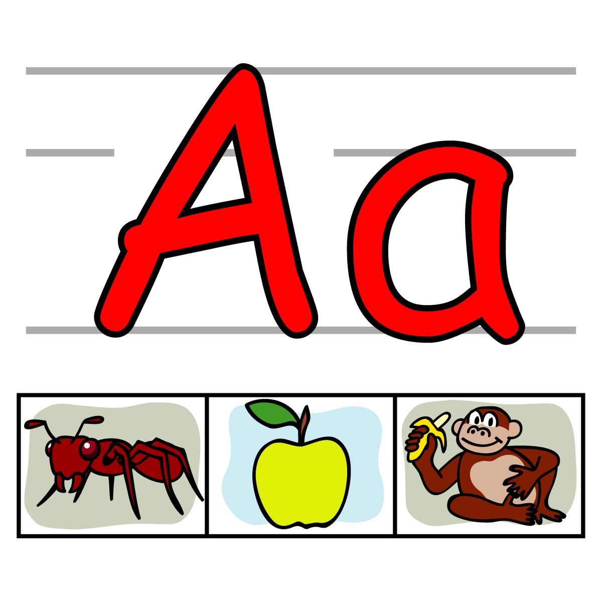 Alphabet letter clip art black and white Letters clip art - ClipartFest black and white
