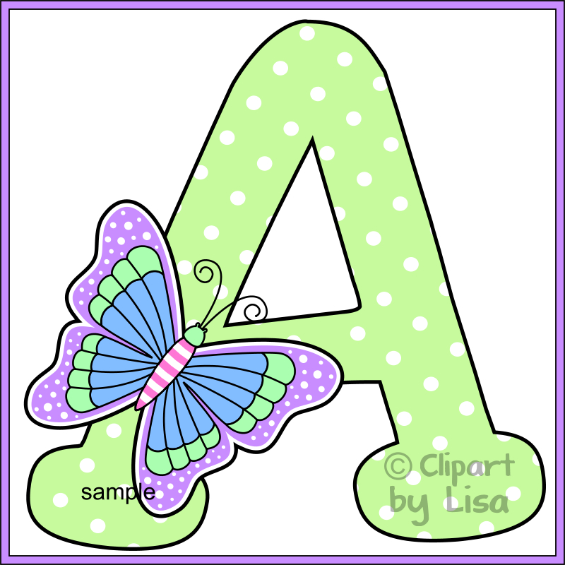 Alphabet letters clipart 4 - Clipartix picture library download