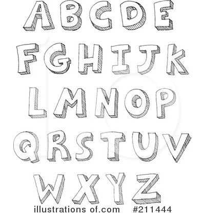 Alphabet Letter Clipart Black And White - clipartsgram.com royalty free download