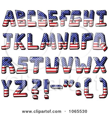 Flag letters clipartfest capital. Alphabet letter clipart flags