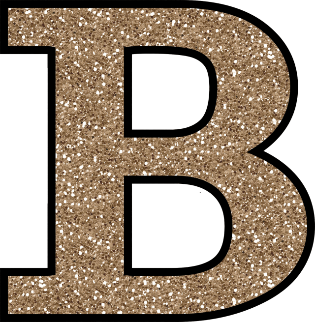 Clipart of letter b jpg freeuse stock Glitter Without The Glue! Free Digital Printable Alphabet to ... jpg freeuse stock