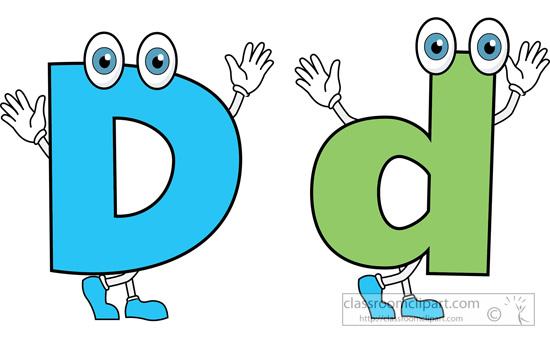 Letters clip art clipartfest. Alphabet letter d clipart