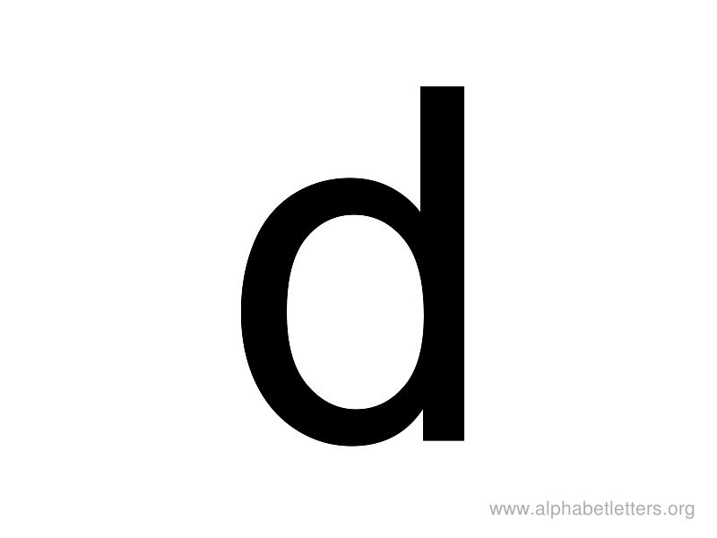 Alphabet letter d clipart png freeuse download Alphabet Letters D Printable Letter D Alphabets | Alphabet Letters Org png freeuse download