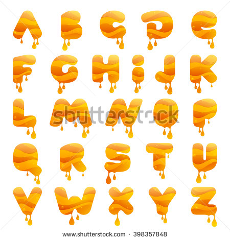 Alphabet letter h dripping in honey clipart image download Alphabet letter s dripping in honey clipart - ClipartFox image download