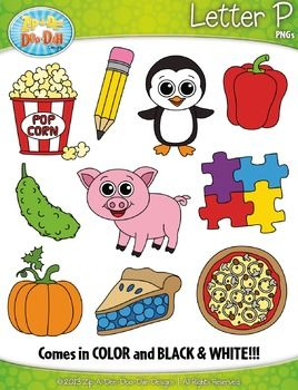 Aip-a-dee-doo-dah clipart svg free stock Alphabet Letters P Clipart {Zip-A-Dee-Doo-Dah Designs}   My Teachers ... svg free stock