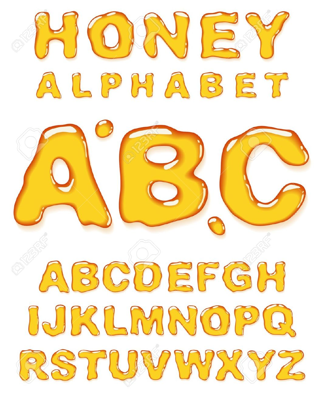 Alphabet letter s dripping in honey clipart - ClipartFest clip free stock