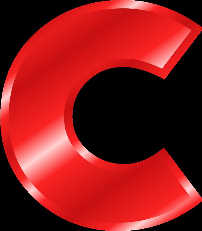 Alphabet letters clip art c - ClipartFest clip art free library