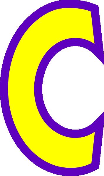 Letter C Clipart & Letter C Clip Art Images - ClipartALL.com clip black and white