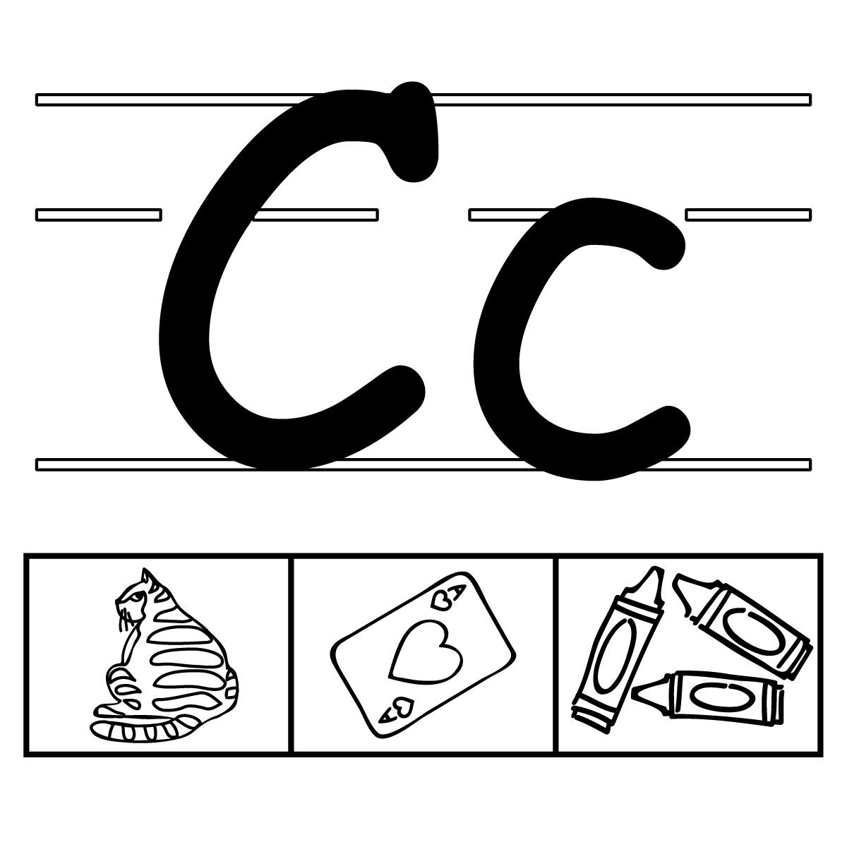 Alphabet letters clip art c - ClipartFest graphic transparent stock