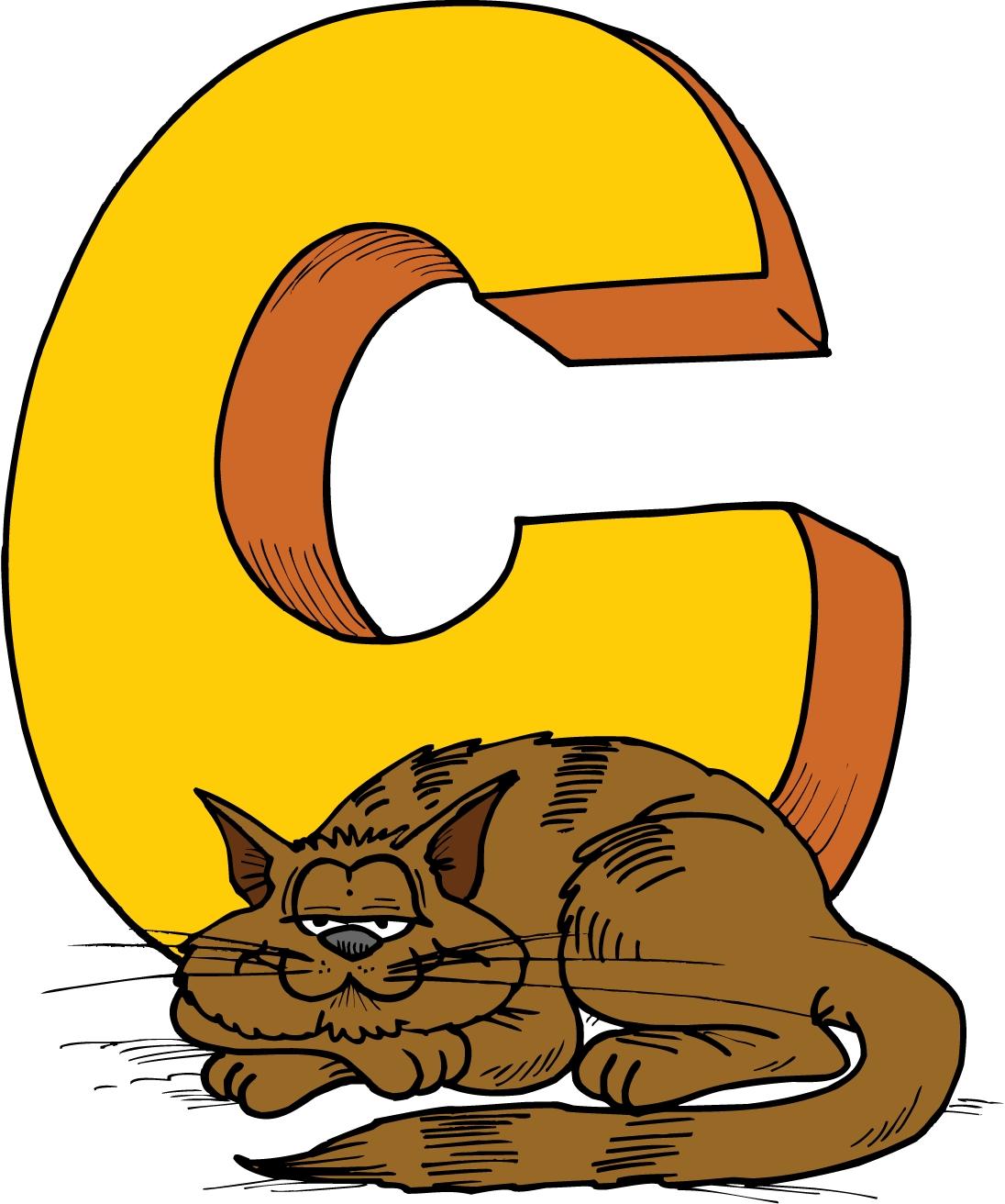 Alphabet letters clip art c clip art royalty free download Animal clipart alphabet letters - ClipartFox clip art royalty free download