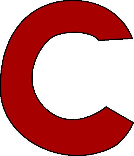 Alphabet letters clip art c clipart transparent library Letter C Clipart - Clipart Kid clipart transparent library