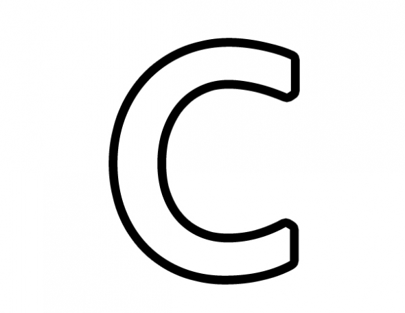 Letter C Clipart - Clipart Kid vector royalty free