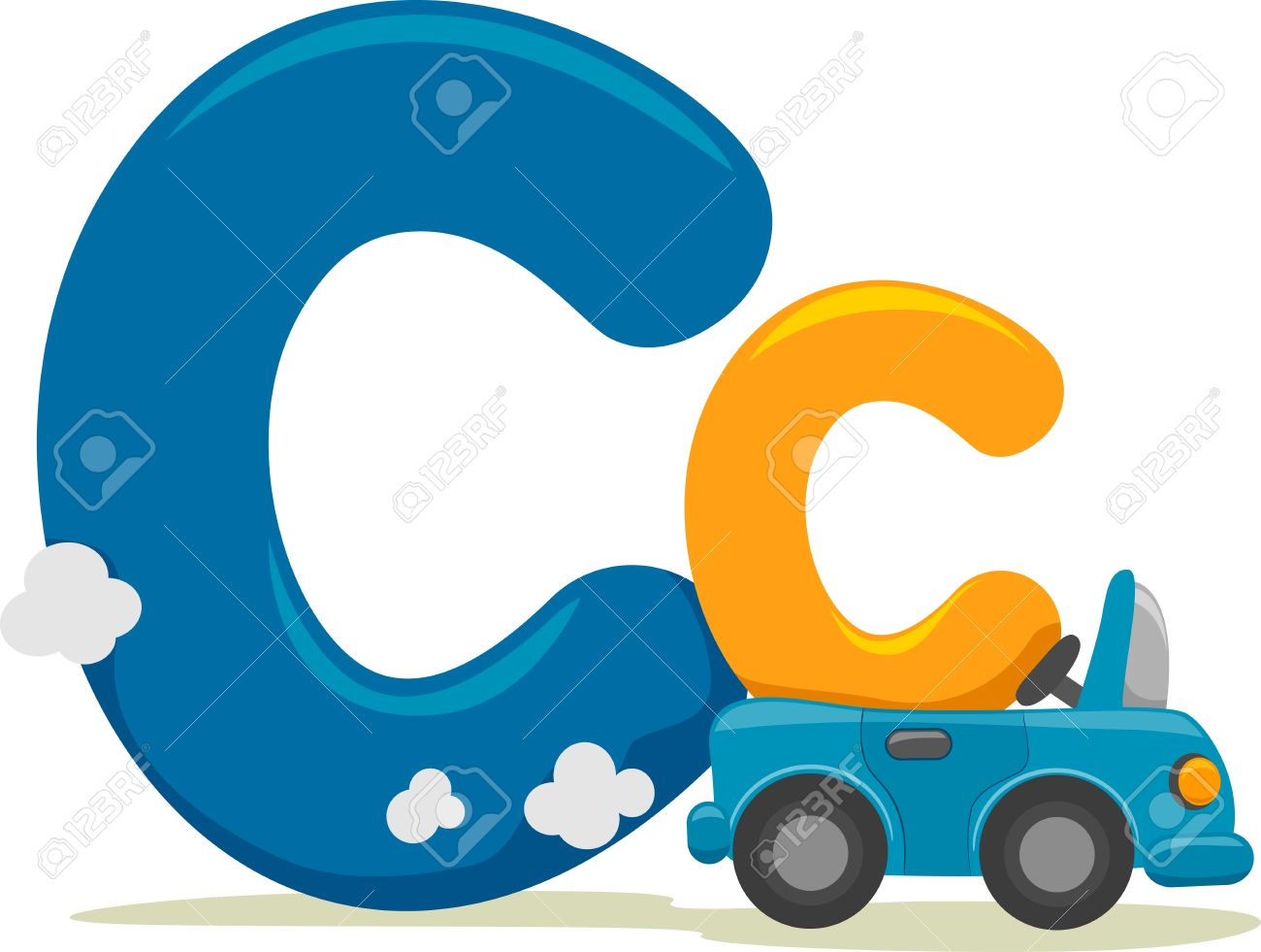 Alphabet letters clip art c jpg freeuse stock Illustration Featuring The Letter C Stock Photo, Picture And ... jpg freeuse stock