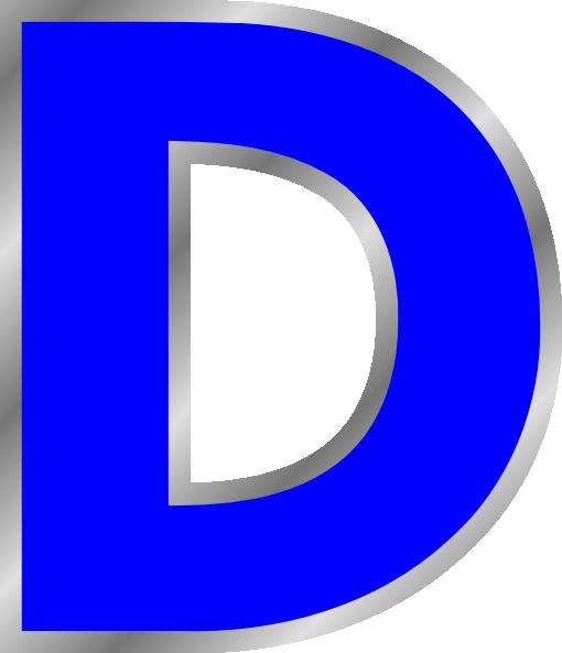 Alphabet letters clip art d clip art download Clipart letter d - ClipartFox clip art download