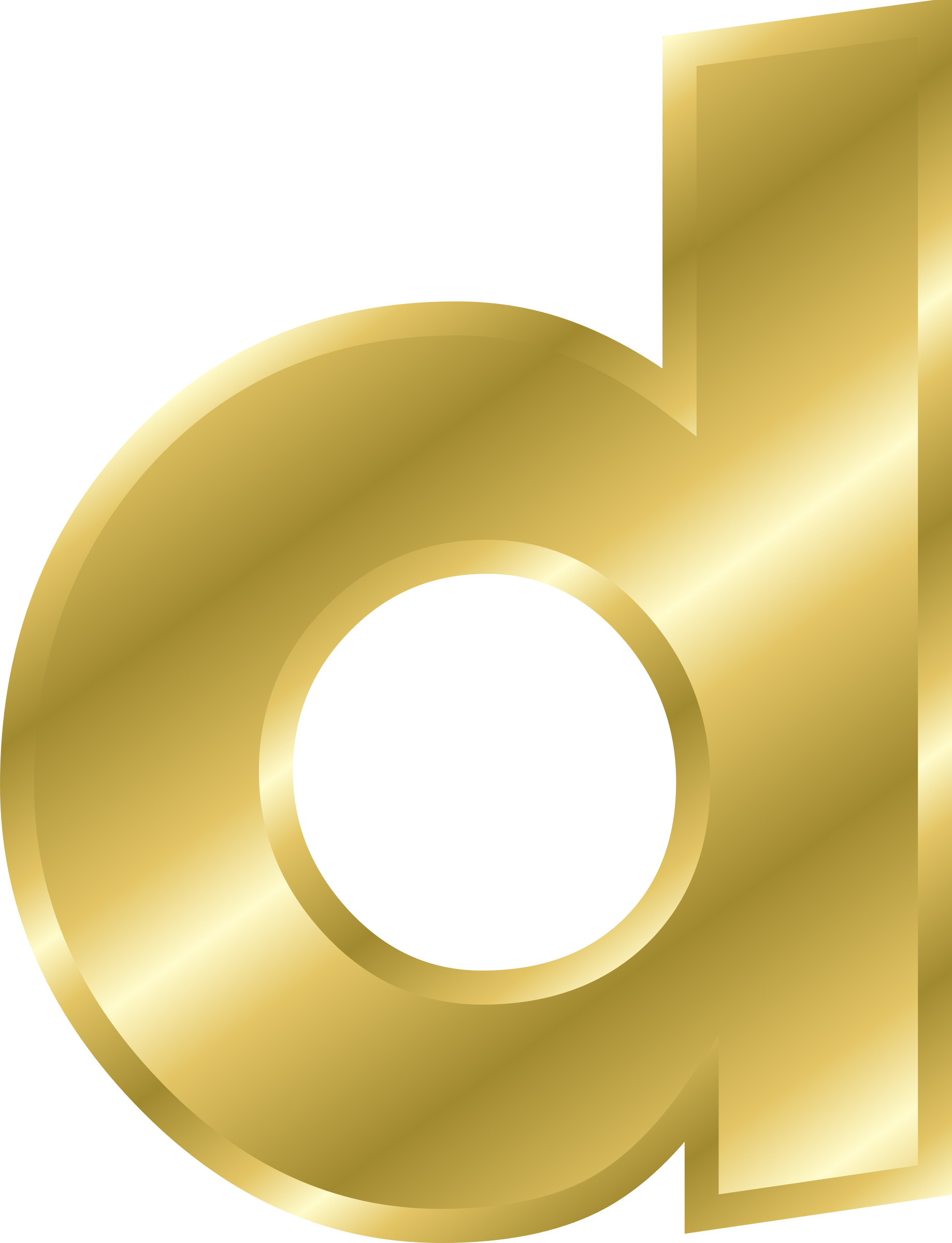 Clipart effect gold big. Alphabet letters clip art d