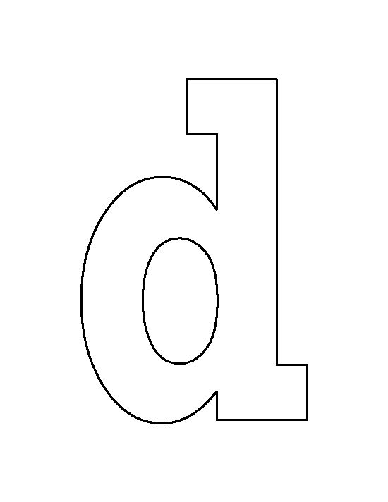 Alphabet lower case letter d clipart banner stock Stencil letter d clipart - ClipartFox banner stock
