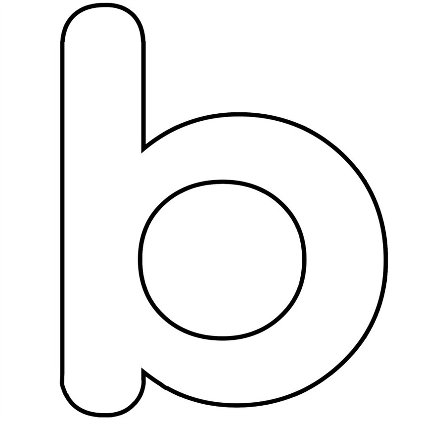 The lowercase letter b clipart - ClipartFest graphic royalty free stock