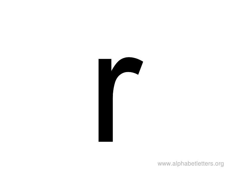 Clipartfest lowercase. Alphabet lower case letter r clipart
