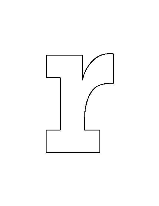Alphabet lower case letter r clipart. Clipartfest lowercase pattern