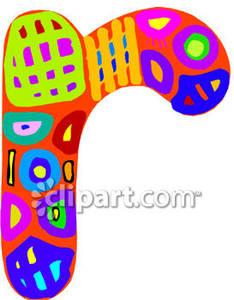Clip art clipartfox mosaic. Alphabet lower case letter r clipart