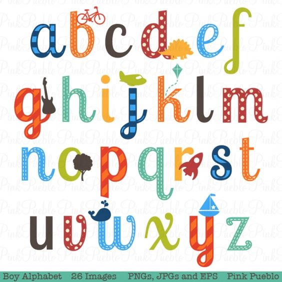 Alphabet lowercase clipart png royalty free library Lowercase Boy Alphabet Clip Art - Luvly Marketplace | Premium ... png royalty free library