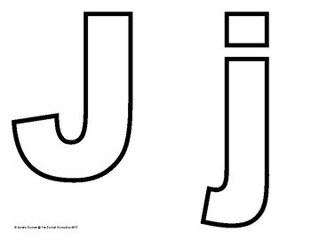 Alphabet outline letter clipart clip library download Alphabet Outlines with Capital and Lowercase Letters clip library download