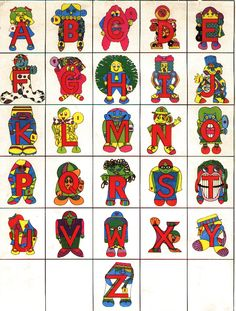 Alphabet people clipart - ClipartFest picture freeuse
