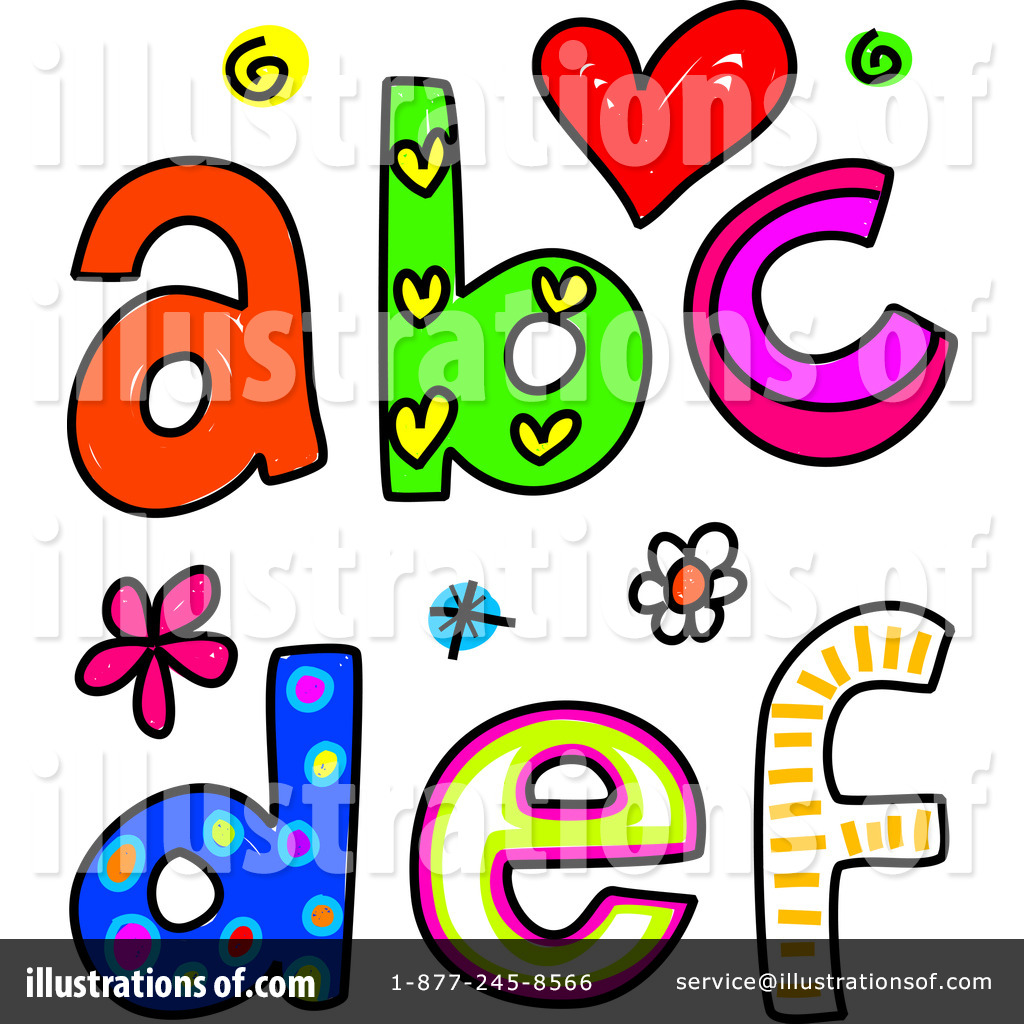 Alphabet people clipart. Border clipartfest abc letters