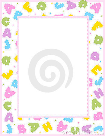 Alphabet people clipart border - ClipartFest graphic royalty free library